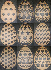 Easter Egg 150mm high MDF Wood Crafts Special Occaision Party hunt
