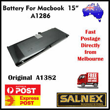 "Brand New Genuine Battery A1382 for Apple MacBook Pro 15"" A1286  2011 Model"