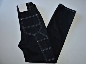 Women's Lee Vintage Modern High Rise Dungaree Ankle Carpenter Jeans Size 28 NWT