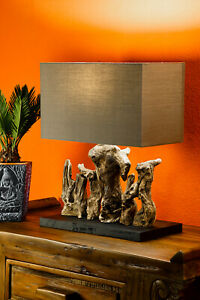 Floor Lamp Table Lamp Shade Lamp Light Lampshade Driftwood Decoration New