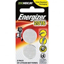 Energizer Coin Cell Battery Twin Pack - 3v Lithium Batteries - CR2016- FREE POST