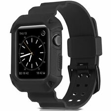 Camyse Shockproof Rugged Protective Cover 42mm Black Fits Apple Watch