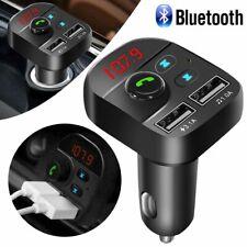 Handsfree Wireless Bluetooth Car FM Transmitter MP3 Player Dual USB Charger Kit