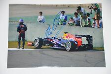 Mark Webber signed 20x30cm Foto , Autogramm / Autograph in Person