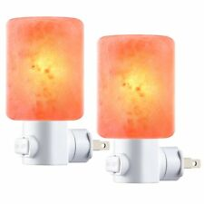 Amir Salt Lamp, Natural Himalayan Crystal Salt Light with 4 Bulbs (2 Colorful