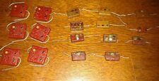 Lot of 17 Vintage Nos & Used Mica Capacitors Solar Cornell Dublier El-Menco Etc.