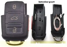 Replacement Remote Car Key Fob Shell Case for Volkswagen Vw 02-05 Jetta Passat(Fits: Volkswagen Passat)