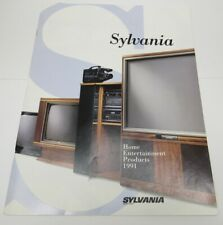 1991 Sylvania Home Entertainment Products Catalog -H4