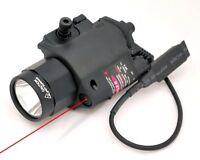 ETG XP6E QD Rail Mount Pistol Handgun LED Flashlight Weapon Light Laser Sight