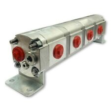Geared Hydraulic Flow Divider 4 Way Valve 225ccrev Without Centre Inlet