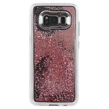Case-Mate Samsung Galaxy S8/S8 + Nudo Waterfall Custodia Antiurto Oro Rosa
