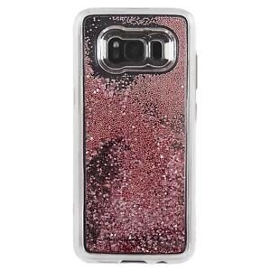 Case-Mate Samsung Galaxy S8/S8 + Nu Chute Housse Etui Antichoc or Rose