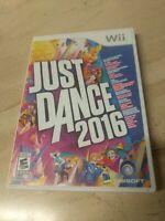 Just Dance 2016 Nintendo Wii Ubisoft
