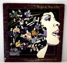 THELMA HOUSTON PRESURE COOKER  I'VE GOT MUSIC ME Disque Vinyl 33T LAB 2 USA 1975