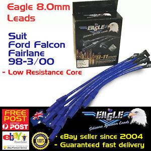 Eagle 8mm Ignition Spark Plug Leads 6cyl Fits Ford Fairlane Fairmont Falcon LTD