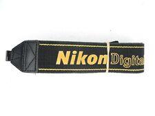 #1 Nikon Digital Black / Yellow Camera Neck Strap For DSLR