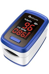aCurio Pulse Oximeter Blood Oxygen Monitor 2021 Sp02 Monitor