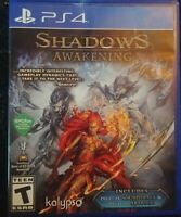 Shadows Awakening Playstation Ps4 Complete Very Rare Video Game Tested Kalypso