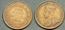 1920  Canada Large Cent  - Solid FINE   stk#1T87