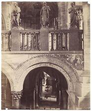 San Zeno Verona Italia Italie Grand albumine déchirures restaurations ca 1870