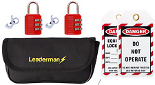 LDM99A MCB RCD Electric Lockout Lock off Kit For Consumer Unit Circuit Breaker.