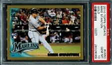Mike Giancarlo Stanton 2010 Topps Update Gold PSA 10 #US50 Rookie RC