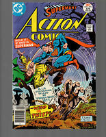SUPERMAN IN ACTION COMICS # 470 FLASH GREEN LANTERN HIGH GRADE NM