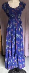Kitten D'Amour Blue Maxi Dress Brand New Size 8