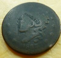 1837 Large Cent   #LC37LG low grade