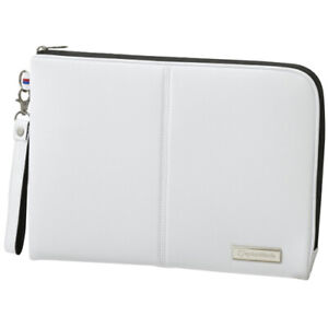 TaylorMade Auth Tech Clutch Pouch Case Internal Organizer Bag (White)