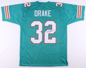 Kenyan Drake Signed Dolphins Teal Jersey (JSA COA) Miami's #1 Running Back /Bama