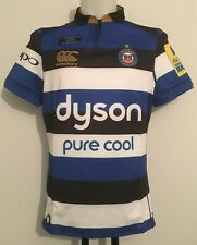 BATH RUGBY 2017-18 S/S HOME TEST JERSEY  BY CANTERBURY SIZE MEN'S LARGE NEW