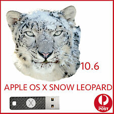 snow leopard 10.6 OSX MAC Installer Bootable USB OS X macbook Pro Air iMac mini