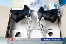 CAMPAGNOLO RECORD TITANIUM 9 SPEED ERGOPOWER BRAKE LEVERS NOS SHIFTER 1997