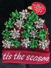 Ugly Stuff Holiday Christmas Sweater Ribbon Bow Hat Beanie Knit Cap Contest
