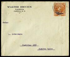 CHILE, POSTAL STATIONERY, EP24, PEDRO DE VALDIVIA, YEAR 1915