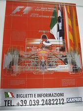 Poster 71e Gran Premio Campari d'Italia Monza 2000 (PBE)