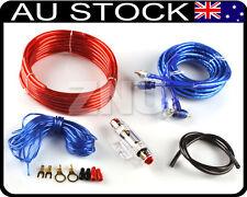 1500W 8GA Car Audio Wire Wiring Amplifier Subwoofer Speaker Installation Kit