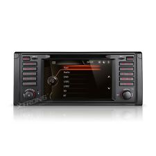 "AUTORADIO 7"" con Interfaccia Originale BMW Serie 5 E53 E39 X5 520 530 D GPS Usb"