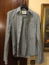 ABERCROMBIE & FITCH Muscle T-L Camisa ALGODÓN GRAN. CALIDAD