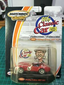 Matchbox collectibles My Classic Car 1965 Shelby Cobra 427 S/C