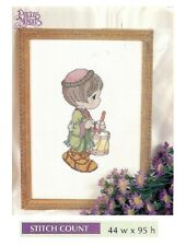 """PRECIOUS MOMENTS """"I PLAY MY DRUM FOR HIM  -  CROSS STITCH PATTERN ONLY   HM EYYY"""