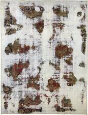 Designer Vintage Picasso Look Jean Wash Perser Teppich Orientteppich 3,55 X 2,69