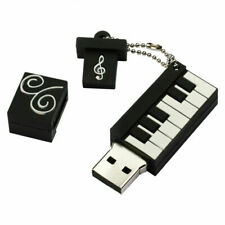 USB 2.0 FLASH DRIVE 64GB 32GB 16GB Silicon Piano PENDRIVE USB STICK MEDIA U DISK