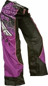 NOS FLY RACING 368-63005 KINETIC BOOT CUT PANTS PURPLE SIZE WOMENS 3/4