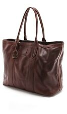 Frye SYLVIA TOTE in Redwood Leather NWT HTF * SOLD OUT