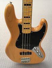 Squier Vintage Modified '70s Jazz Bass In Natural