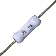 1000 PCs RES 0.39 OHM 390m ohm 2W 5% AXIAL THT Res Metal Film Resistor Original