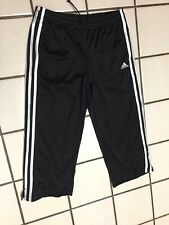 Nike Black pants Unisex Adult S Crop Warm up Track Running cropped