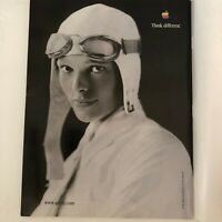 Apple Ad 1998 Amelia Earhart Think Different Scientific American June Magazine